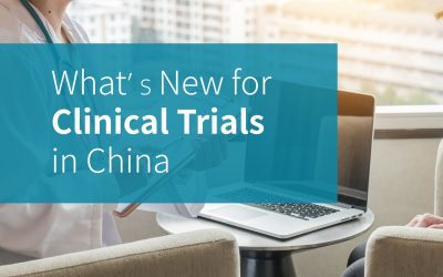 What's New for Clinical Trials in China?