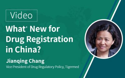 Video: What's New for Drug Registration in China?