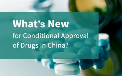 What's new for conditional approval of drugs in China?