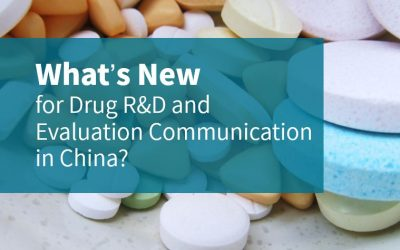 What's New for Drug R&D and Evaluation Communication in China?