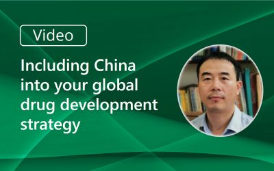 Video: Including China into Your Global Drug Development Strategy